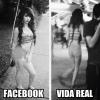No Facebook é uma coisa