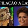 Dilma antes da depilação