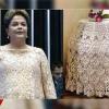 Dilma e suas roupas criativas
