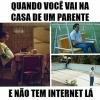 Não da pra viver sem internet