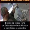 Brasileiro bate todos os recordes de uma vez