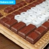 Teclado de Chocolate