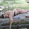 Dormindo ao ar Livre