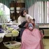 Macaco cabeleireiro