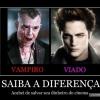 Veja um verdadeiro vampiro
