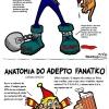 Anatomia de diversos tipos de pessoas