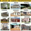 A casa de cada profissão