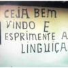 Se a Placa é assim, imagina a Linguiça...