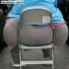 Essa cadeira passou com méritos pelo controle de qualidade!