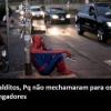 Homem Aranha frustrado.