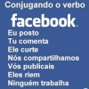 Facebook virou verbo!