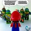 Tartarugas Ninjas x Mario Brós