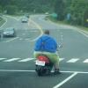 Gordinho motoqueiro!