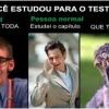 Estudou para o teste?