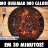 Como queimar 800 calorias