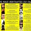 Os tipos mais irritantes do Facebook