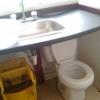 Banheiro de anãozinho!