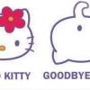 Hello Kitty vindo e indo...