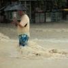 Na hora da enchente...