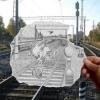 Desenho sobre foto!
