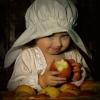 Deve gostar muito de maçã...