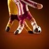 Dedos Jogando Futebol