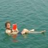 Só não pode molhar o livro!
