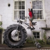 Bicicleta de maluco...