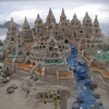 Uma obra de arte na areia incomparável!
