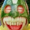 Criatividade na melancia!