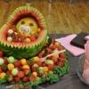 Maneiríssima a decoração da melancia!