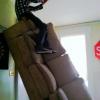 Na falta da escada...