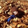 Engolida pelas folhas...