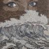 Arte da ucraniana Svetlana Ivanchenko com areia e conchas I