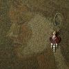 Arte da ucraniana Svetlana Ivanchenko com areia e conchas IV