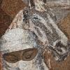 Arte da ucraniana Svetlana Ivanchenko com areia e conchas X
