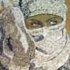 Arte da ucraniana Svetlana Ivanchenko com areia e conchas XII