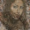 Arte da ucraniana Svetlana Ivanchenko com areia e conchas XIII