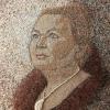 Arte da ucraniana Svetlana Ivanchenko com areia e conchas XVII
