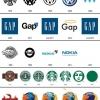 A evolução dos logos