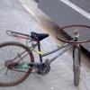 Bike com volante!