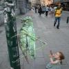 Incrível arte de rua!