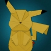 Origami de personagem dos games I