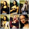 As diversas fases da Monalisa!