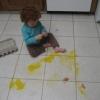 Arte com ovos...