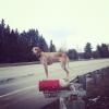 Maddie o cachorro equilibrista V