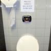 Aviso de banheiro!