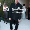 Jim Carrey na festa de Elton John