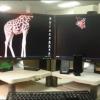 Área de trabalho criativa...