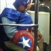 Capitão América aposentado...